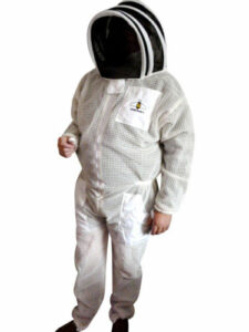 beekeeping suit white fencing