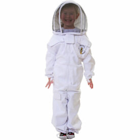 Child Beekeeping Suit white fencing