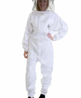 beekeeping Suit white hoop veil