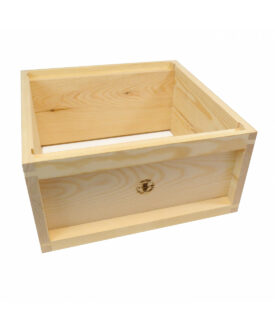 british national assembled wooden brood box
