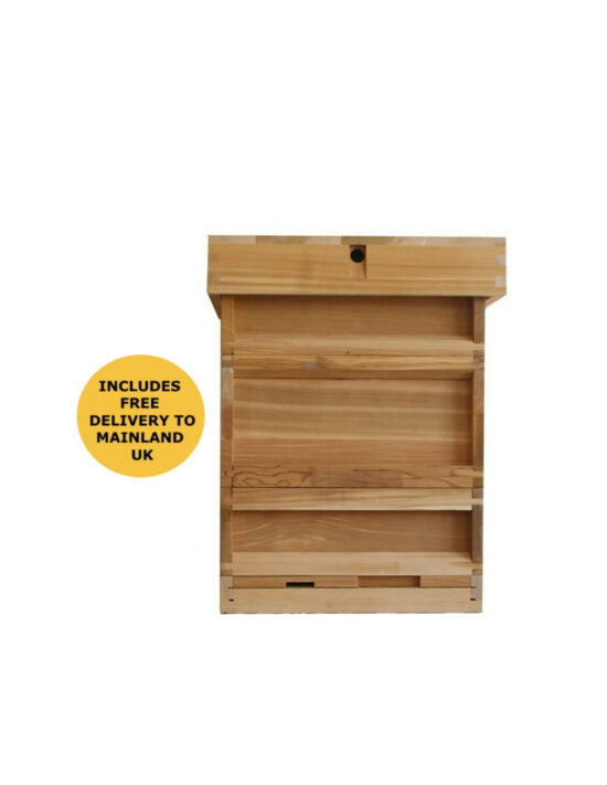 BS national western cedar hive with 2 supers flat pack