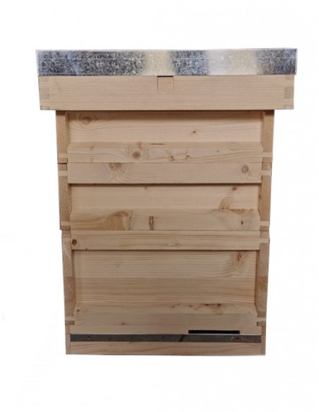 budget bs national pine hive with 2 supers