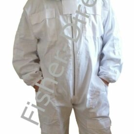 Fisher bee suit white full